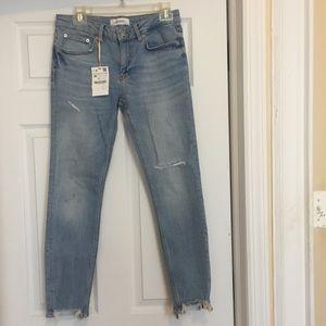 NWT Zara Jeans from premium denim collection
